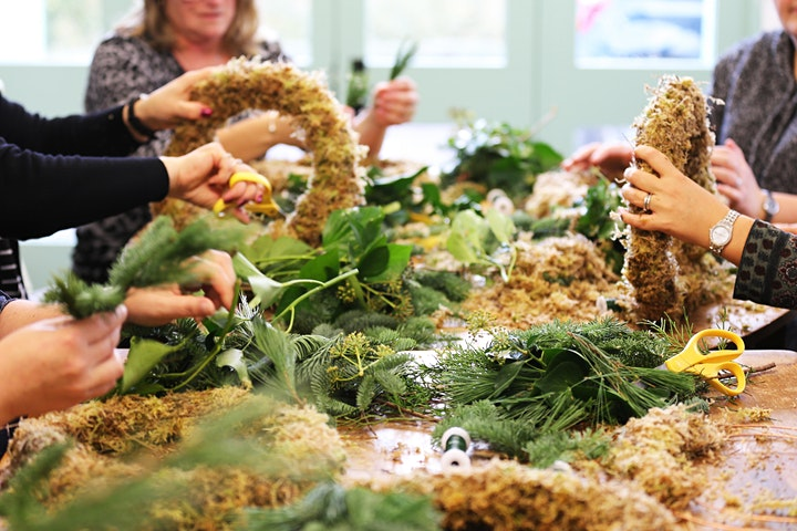 Christmas Wreath Workshop image