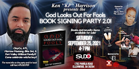 """God Looks Out For Fools Book Launch - 2.0 with Kenya """"KP"""" Harrison tickets"""