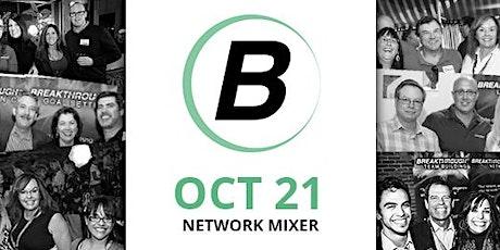 Breakthrough Network Mixer - October 21st, 2021 tickets