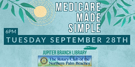 Medicare Made Simple - Jupiter Library tickets