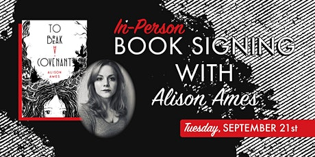 Book Signing with Alison Ames tickets