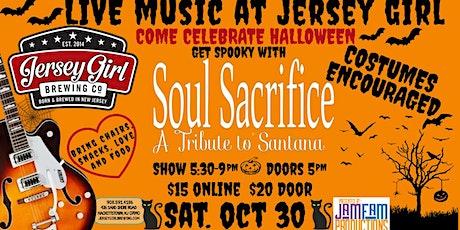 Soul Sacrifice: A Tribute to Santana  @ Jersey Girl Brewing! tickets