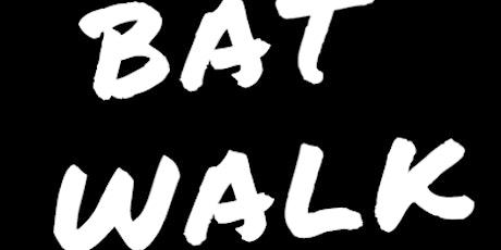 Bat Walk with Wildlife Specialist & Naturalist Steve England tickets