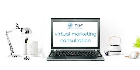 Online Marketing Consultation tickets