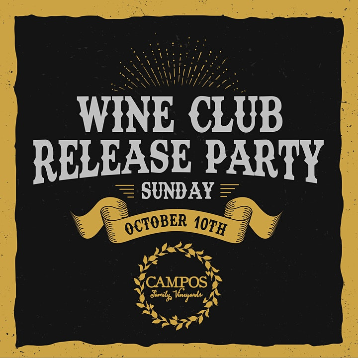 October Wine Club Release Party - For Members Only. image