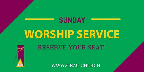 Sunday Worship Service - September 26th tickets