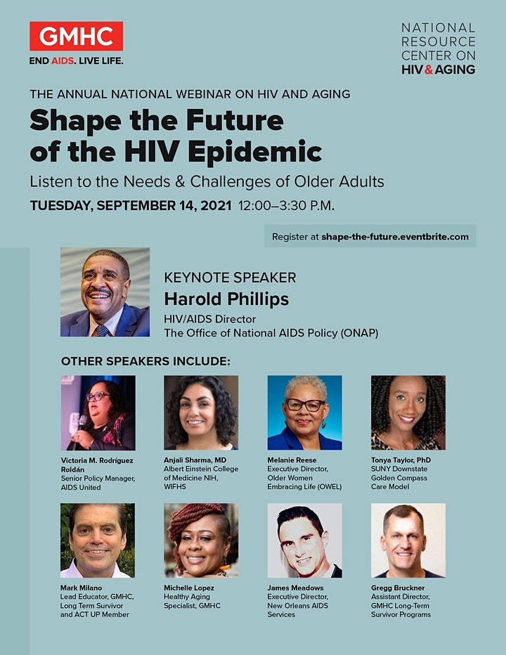 Shape the Future of the HIV Epidemic: Needs & Challenges of Older Adults image