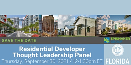 USGBC Florida Presents Residential Developer Thought Leadership Panel tickets