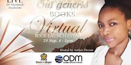 Virtual  Book Launch tickets