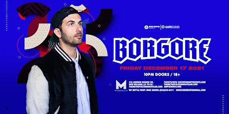 BORGORE Live at the Metropolitan - Friday December 17th, 2021 tickets