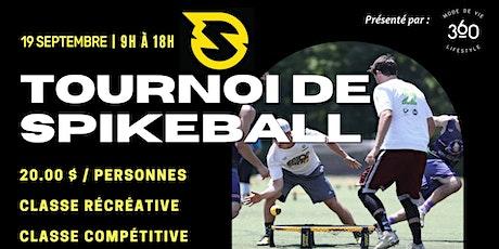 Tournoi de Spikeball | Présenté par Mode De Vie 360 billets