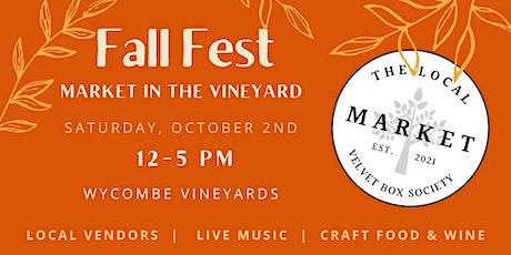 Fall Fest Market in the Vineyard tickets