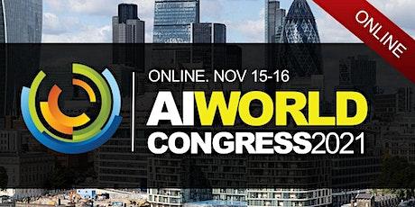 AI WORLD CONGRESS 2021 tickets