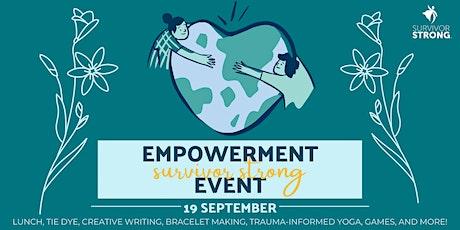Survivor Strong Empowerment Event 2021 tickets