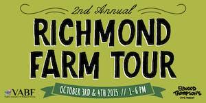 REGRETFULLY CANCELLED 2015 Richmond Farm Tour