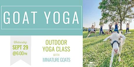Goat Yoga 9.29.21 tickets