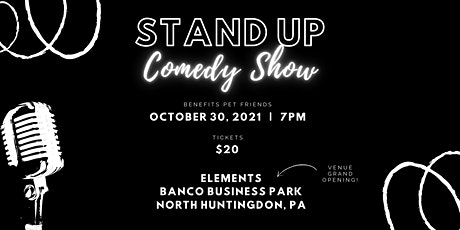 Comedy Show benefiting Pet Friends tickets