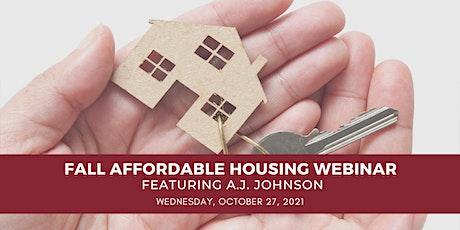 McKonly & Asbury's 2021 Fall Affordable Housing Webinar tickets