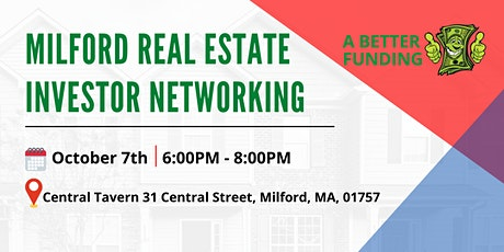 Milford  Real Estate Investor Networking tickets