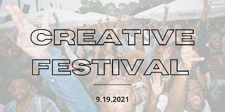 Creative Festival tickets