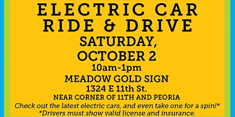Electric Vehicle Ride & Drive tickets