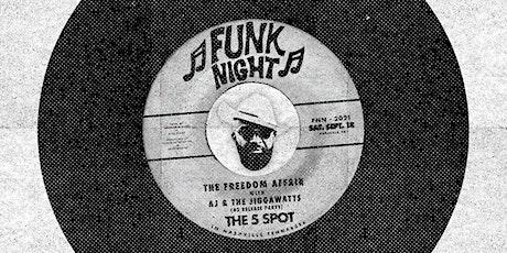 Funk Night Nashville 9/18/21 tickets