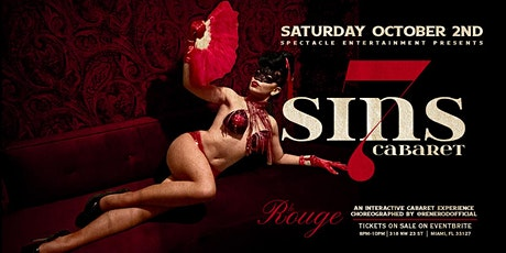 7 Sins Cabaret at Le Rouge tickets