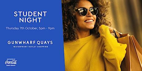Student Night at Gunwharf Quays tickets