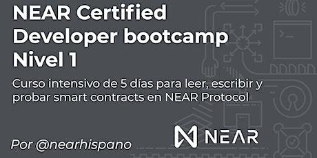 NEAR Certified Developer Bootcamp por NEAR Hispano - Septiembre 2021 entradas