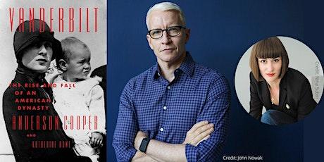 """Anderson Cooper -- """"Vanderbilt"""" tickets"""