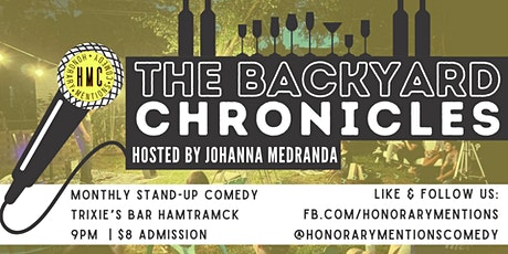The Backyard Comedy Show at Trixie's Bar tickets