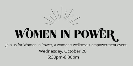 Women in Power (A Networking Event) tickets
