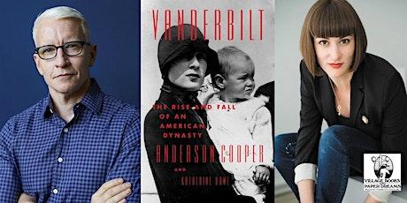 Anderson Cooper and Katherine Howe, Vanderbilt tickets