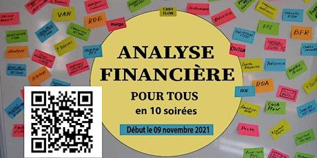 Analyse financière pour tous (non-financiers et financiers)  en 10 soirées billets