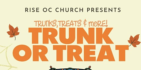 Rise OC Trunk or Treat tickets