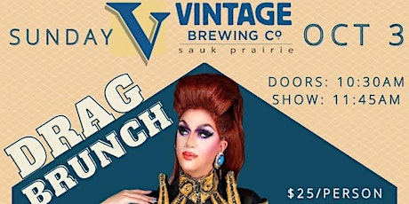 Drag Brunch with Vintage Brewing Co. tickets