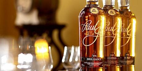 Paul John Whisky Masterclass tickets