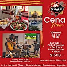 Cena Show en El Dorado RS Restó | Puerto Madero entradas