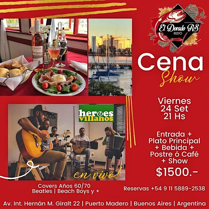 Imagen de Cena Show en El Dorado RS Restó | Puerto Madero