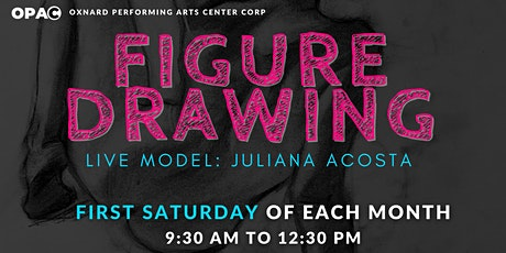 Figure Drawing Series w/ Live Model tickets