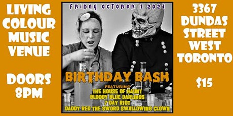 Skull and Anesthesia Birthday Bash tickets