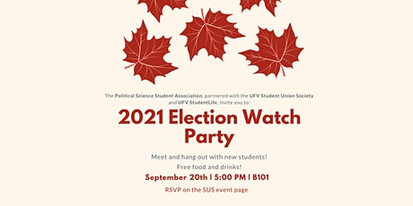 2021 Election Watch Party tickets