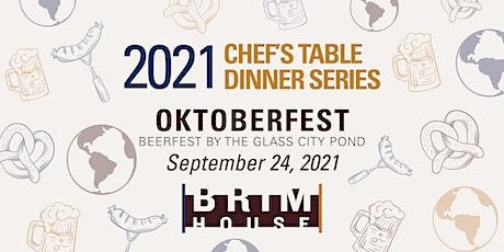 Brim House Oktoberfest Chef's Table tickets