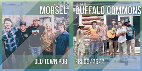 Buffalo Commons and Morsel tickets
