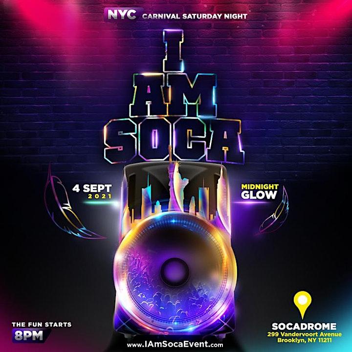 I AM SOCA NYC image