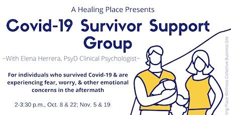 Covid-19 Survivor Support Group via Zoom tickets