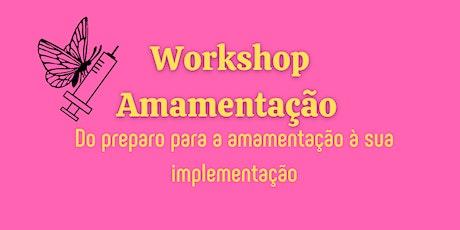 Workshop Amamentação ingressos