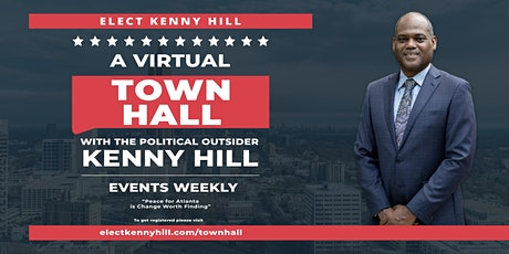 A Virtual Town Hall with Kenny Hill tickets