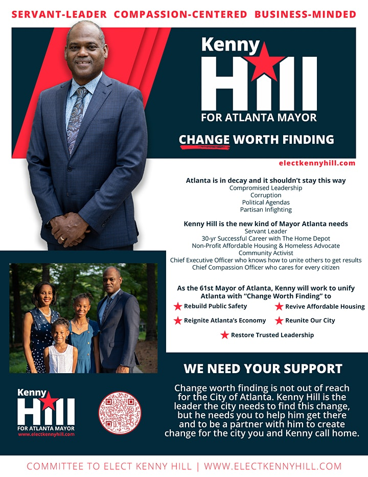 A Virtual Town Hall with Kenny Hill image