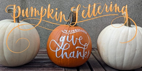 Modern Calligraphy and Pumpkin Lettering Workshop (VIRTUAL) tickets